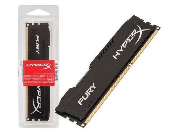 MEMORIA 8GB DDR4 2400GHZ KINGSTON HIPERX FURY BLACK
