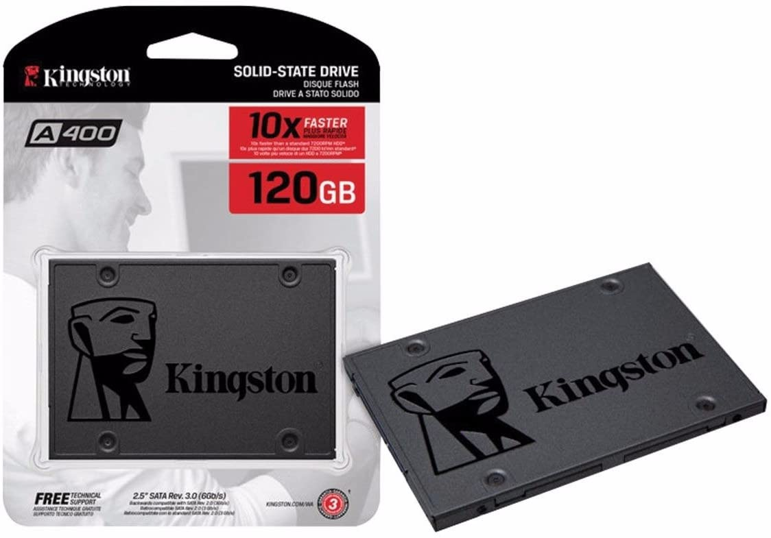 HD 120GB SSD KINGSTON