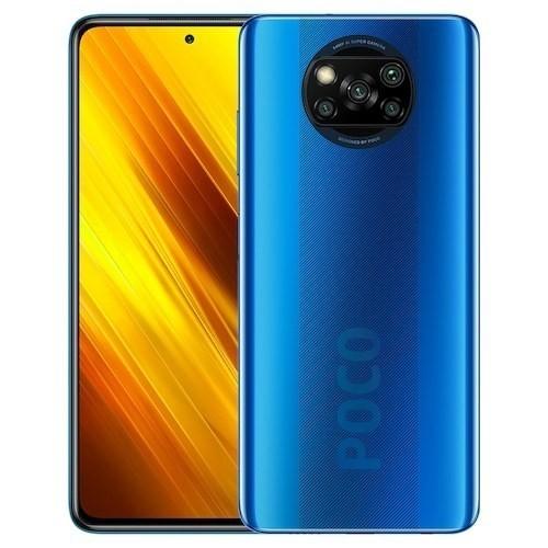 CELULAR XIAOMI POCO X3 NFC 128GB AZUL COBALT BLUE