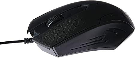 MOUSE USB MAXPRINT IRON 800DPI 6013887 PRETO