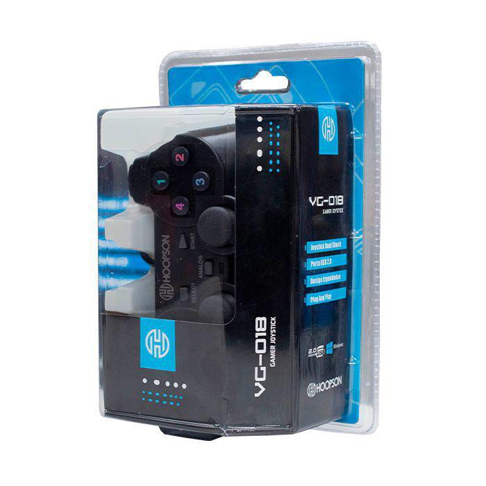 CONTROLE USB HOOPSON VG-018 PRETO